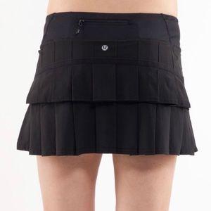 Lululemon Pacesetter Skirt (Black)